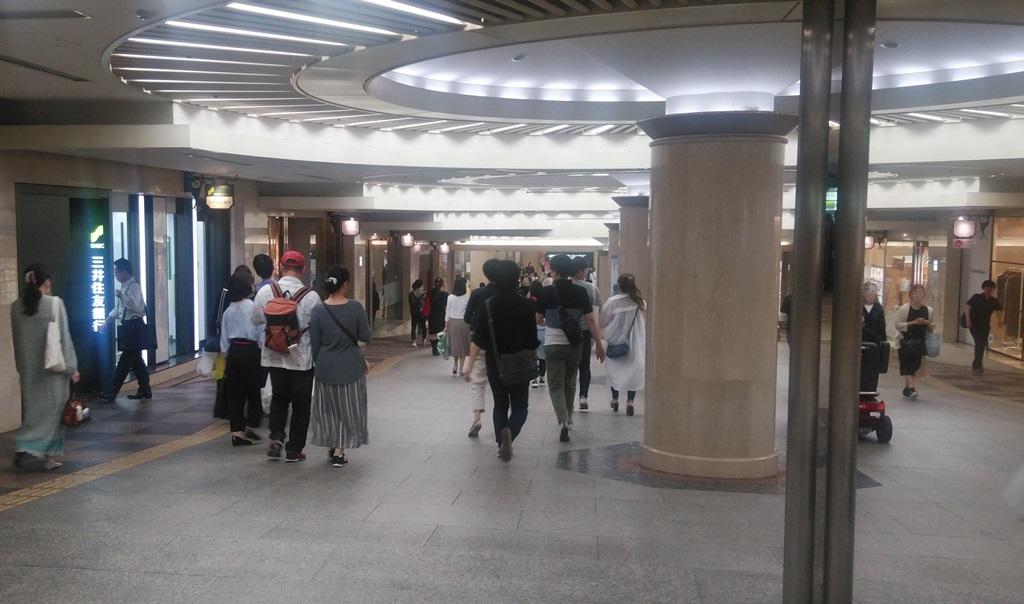 阪神から北新地1