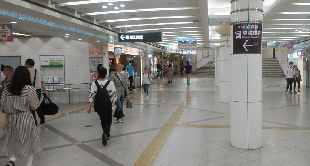 阪神から東梅田4