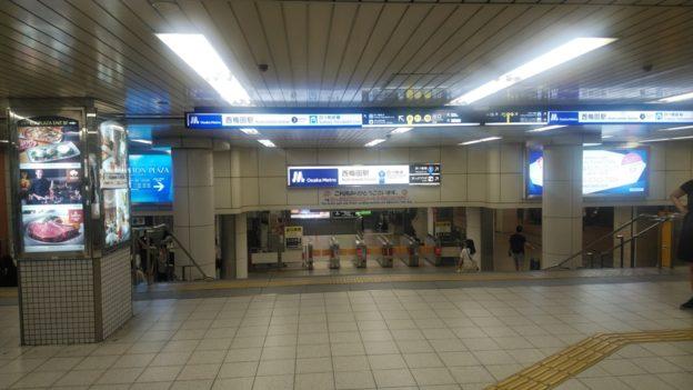 阪神から西梅田1