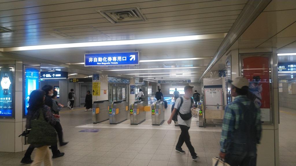 阪神から西梅田3