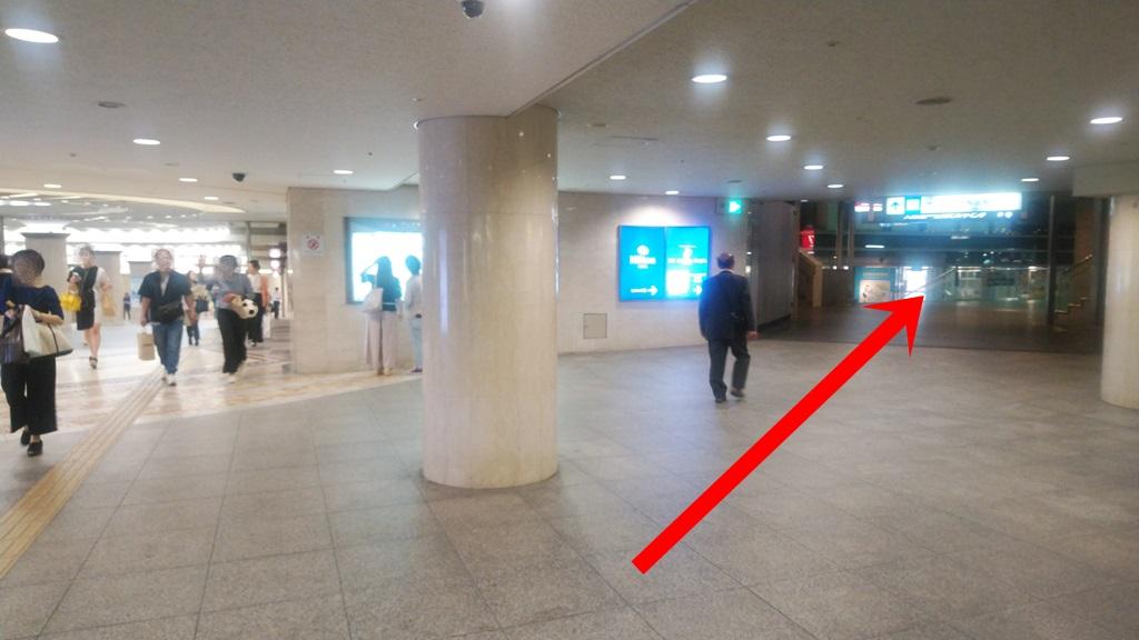 阪神から西梅田4