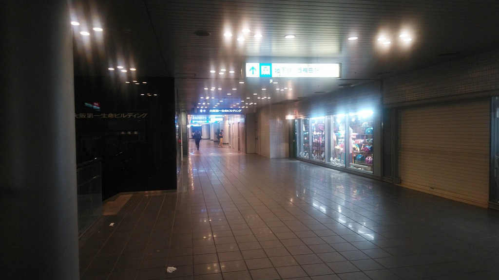 阪神から西梅田5