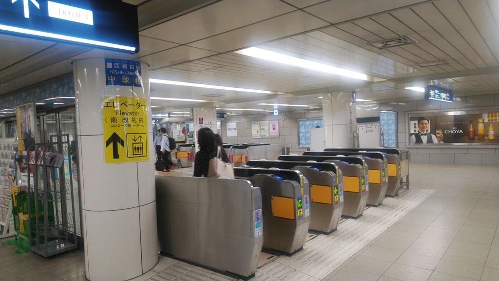 阪神から西梅田8