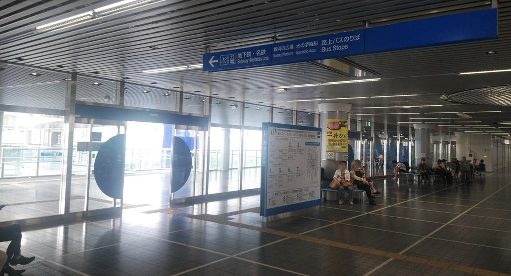 バスターミナルから東山線1