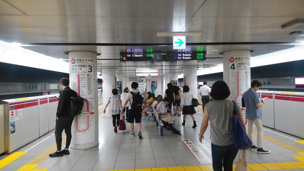 三田線から大江戸線5
