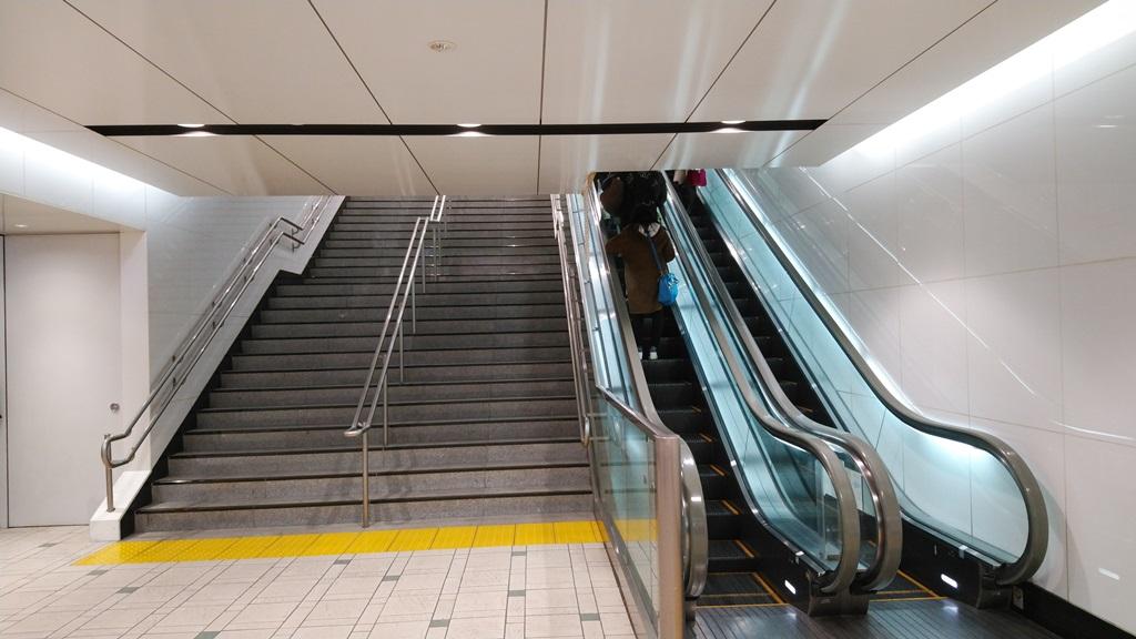 丸ノ内線からバスターミナル5