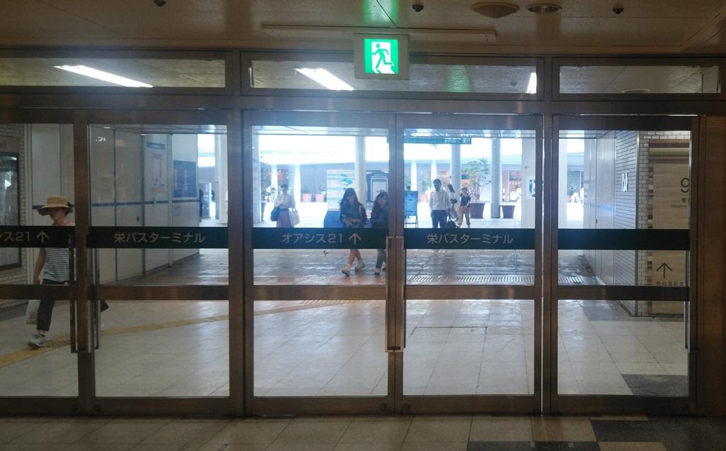 名鉄線からバスターミナル3