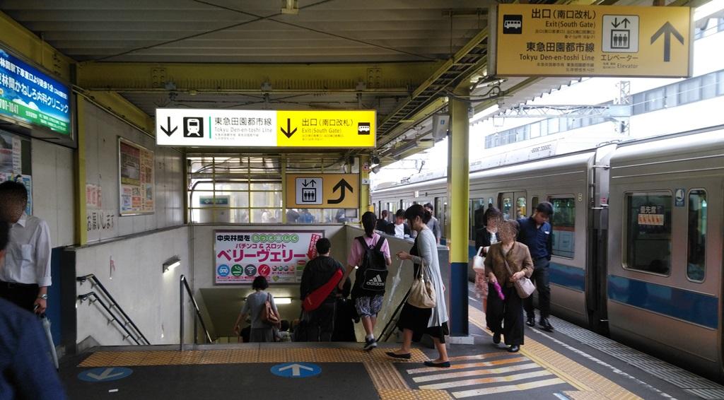 小田急から東急1