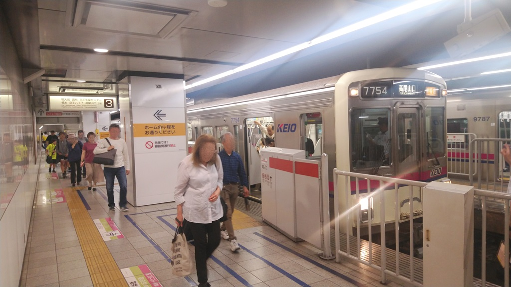 新線から京王線4
