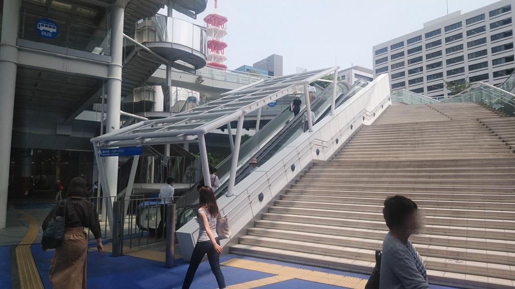 東山線からバスターミナル5