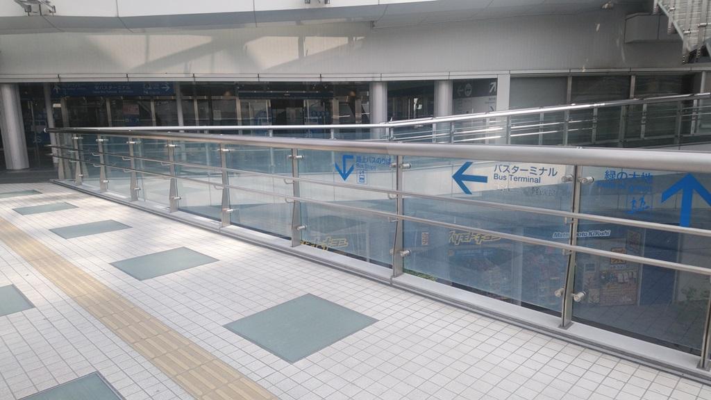 東山線からバスターミナル6