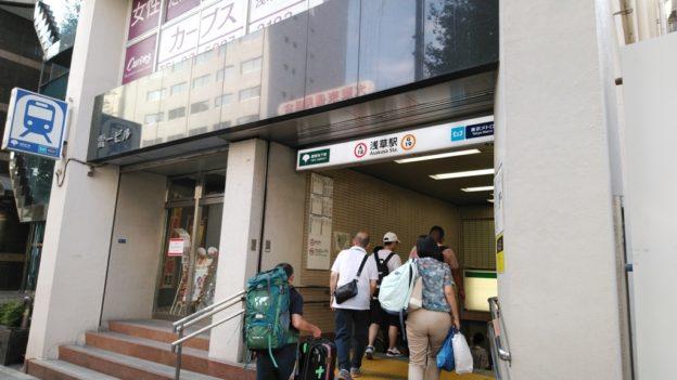 スカイツリーラインから浅草線4