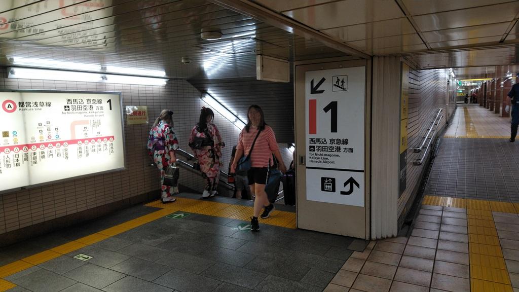 スカイツリーラインから浅草線9