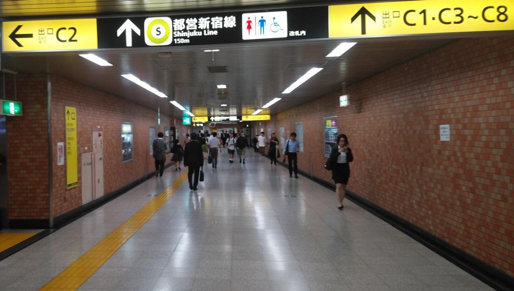 副都心線から都営新宿線3