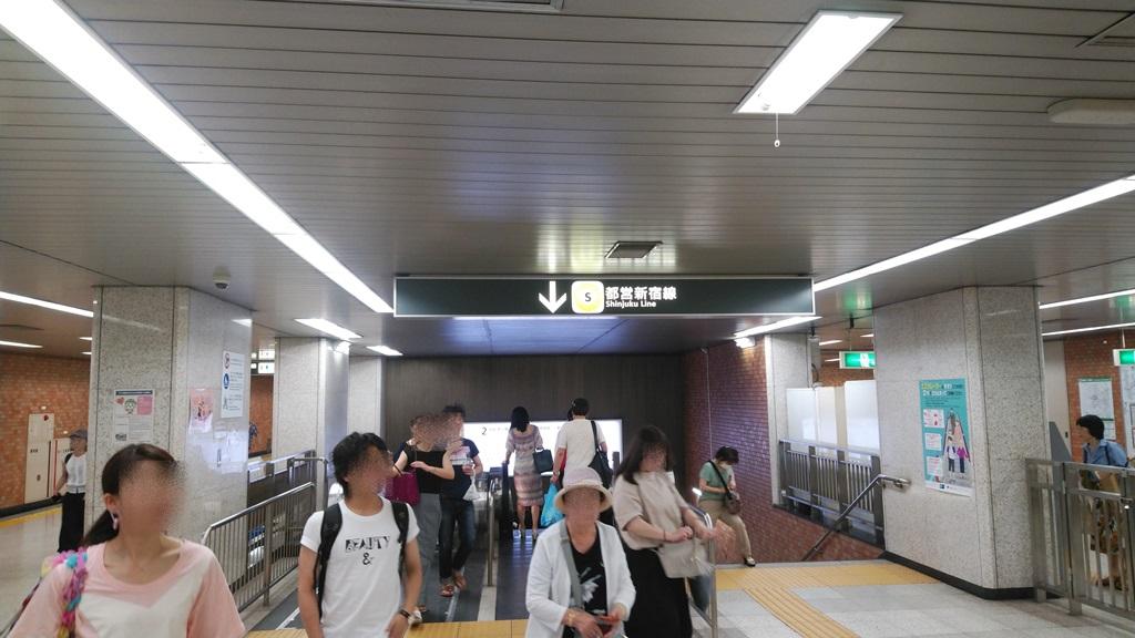 副都心線から都営新宿線6