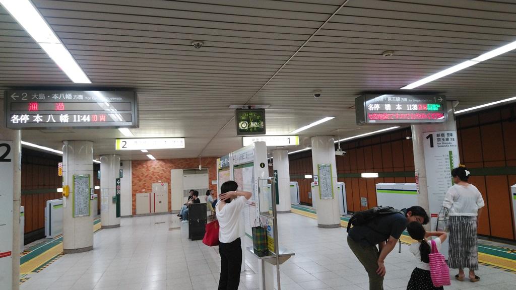 副都心線から都営新宿線7