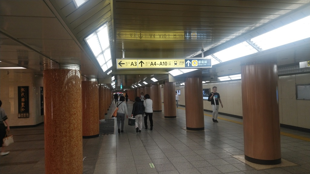 半蔵門線から新日本橋4