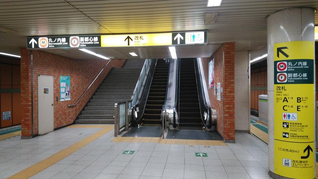 都営新宿線から副都心線1