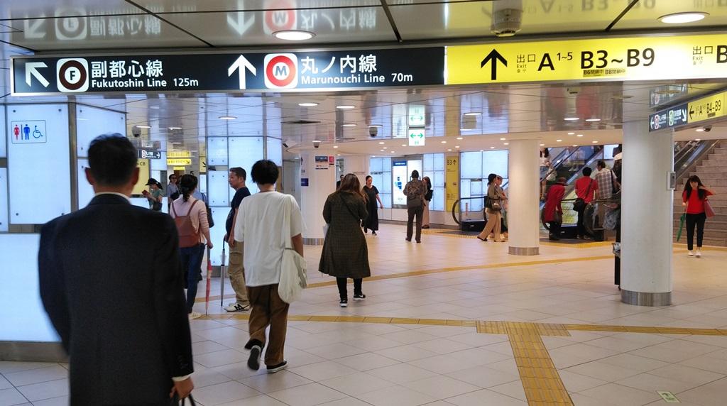 都営新宿線から副都心線5