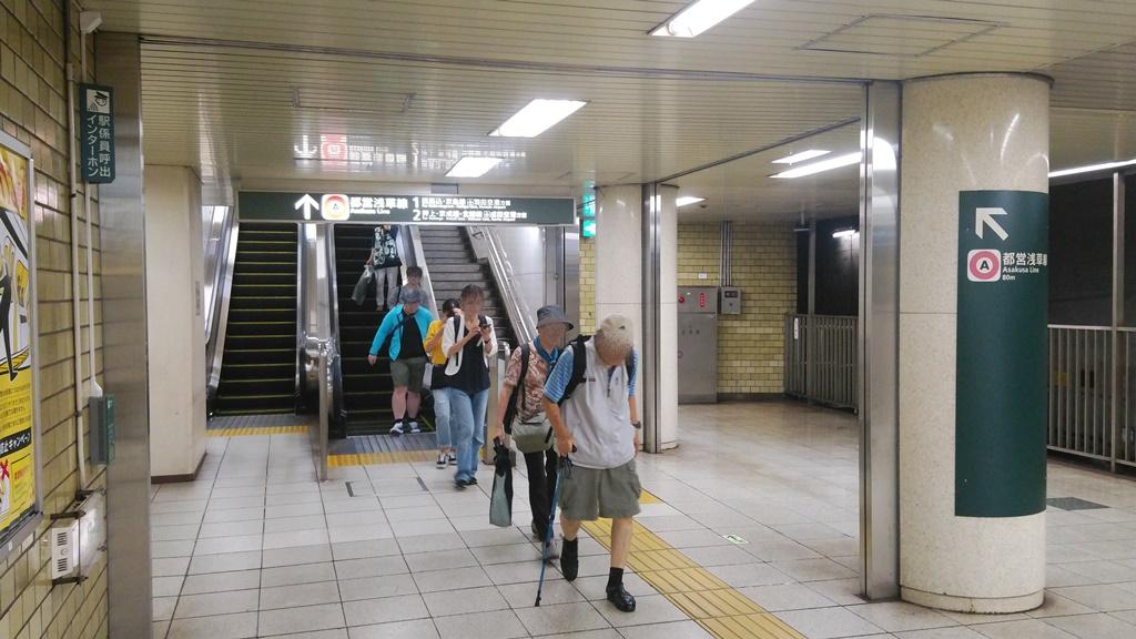 三田線から浅草線1