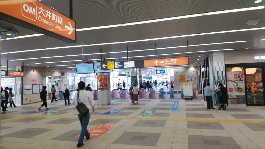京浜東北線から大井町線4