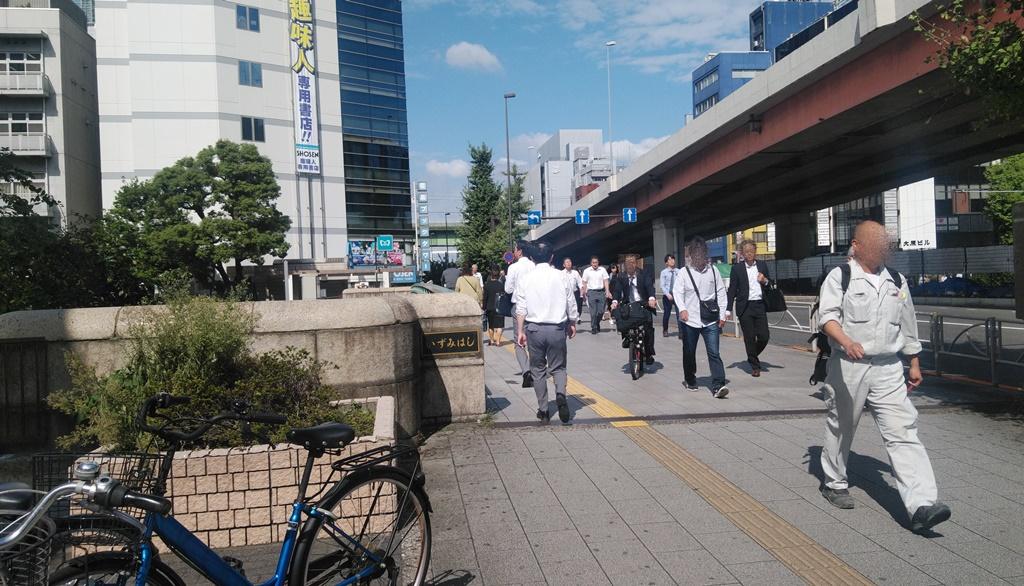 岩本町駅からJR4