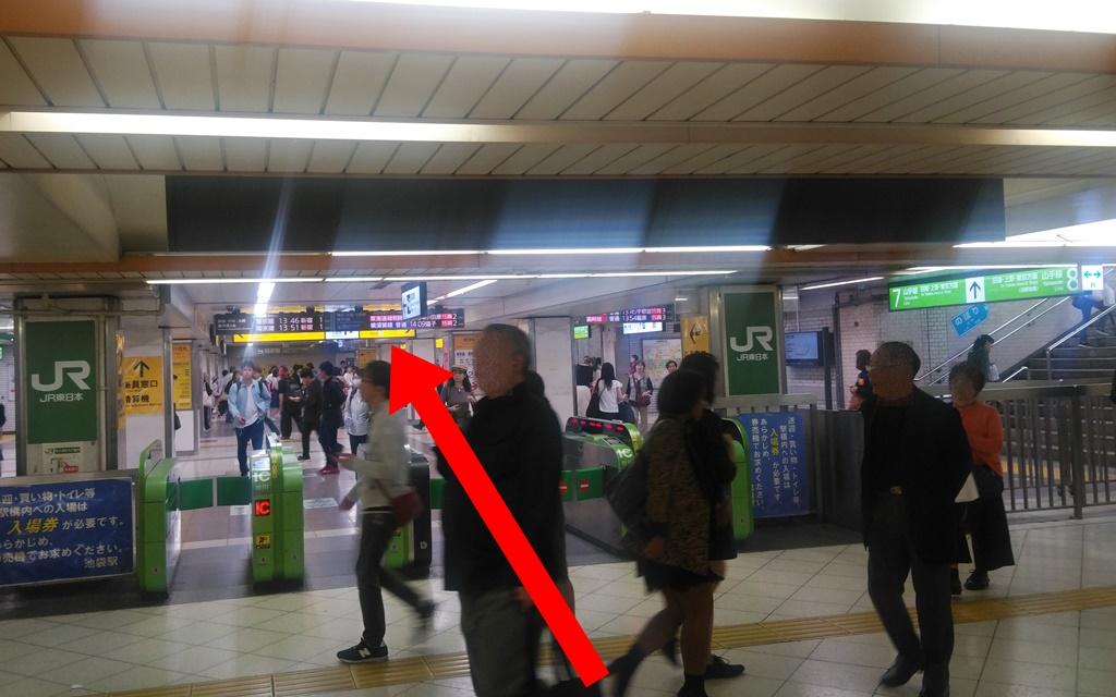 東武中央からJR1