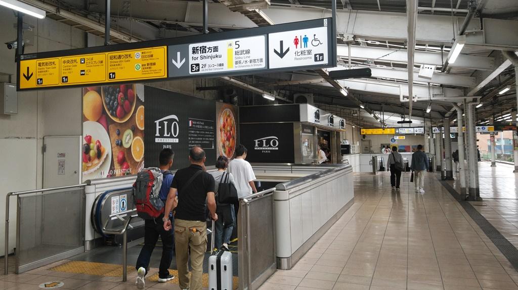 総武線から昭和通り改札1