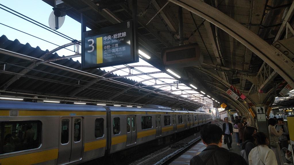 大江戸線からJR6
