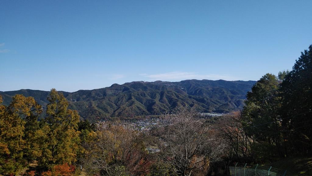 宝登山麓駅景色