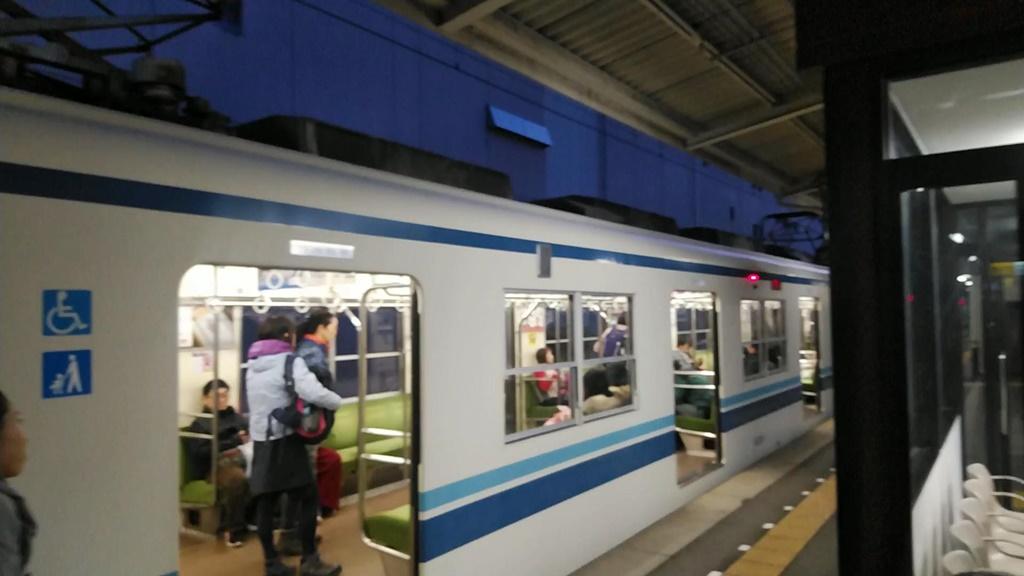 東武東上線寄居駅