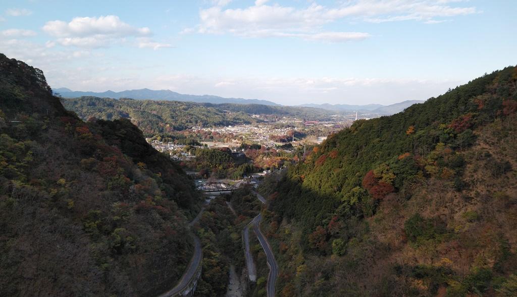 浦山ダム景色1