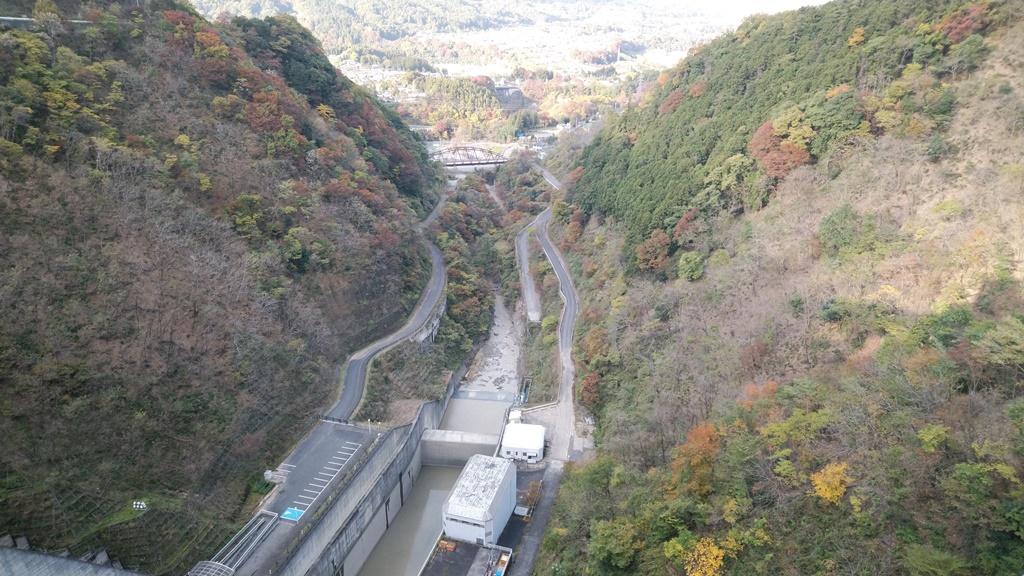 浦山ダム景色2