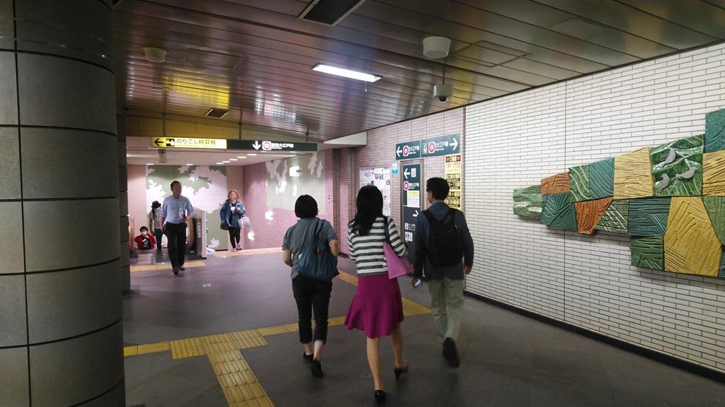 JRから大江戸線6