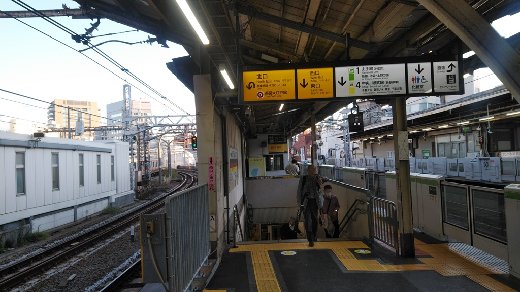 JRから大江戸線8