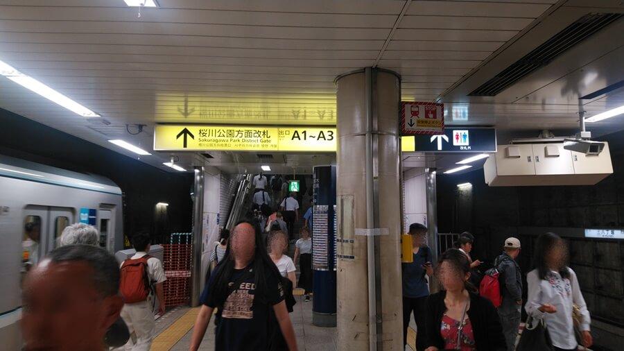 日比谷線から京葉線1