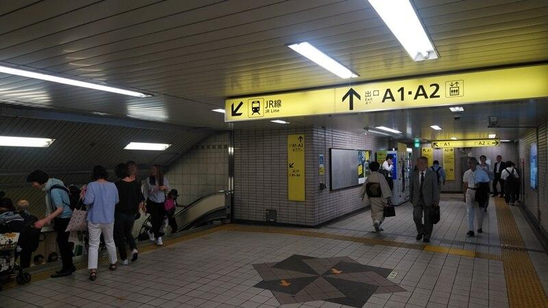 日比谷線から京葉線3