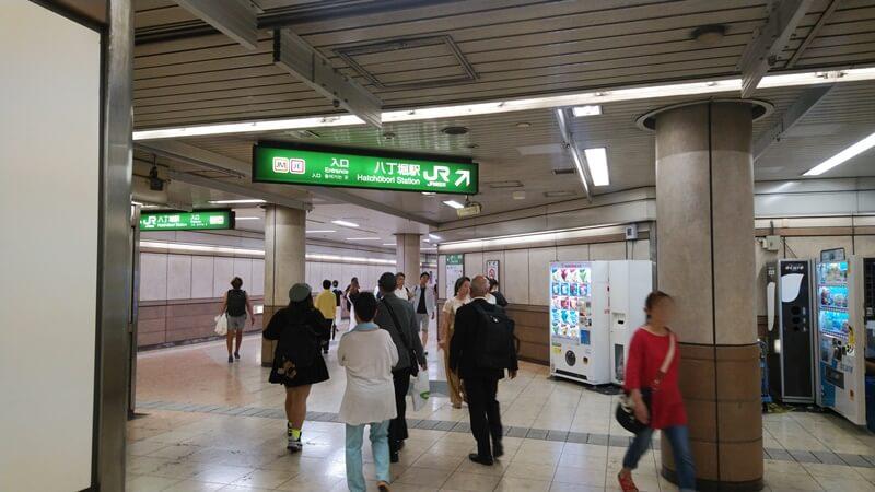 日比谷線から京葉線4