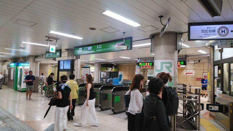 日比谷線から京葉線5