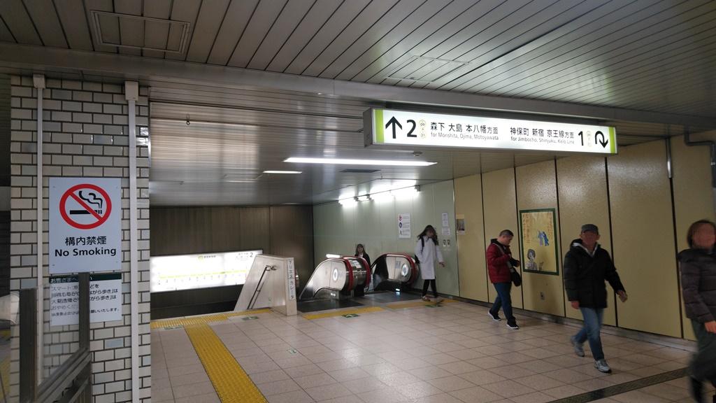 浅草線から都営新宿線11