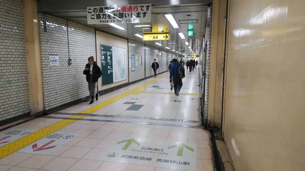 浅草線から都営新宿線5