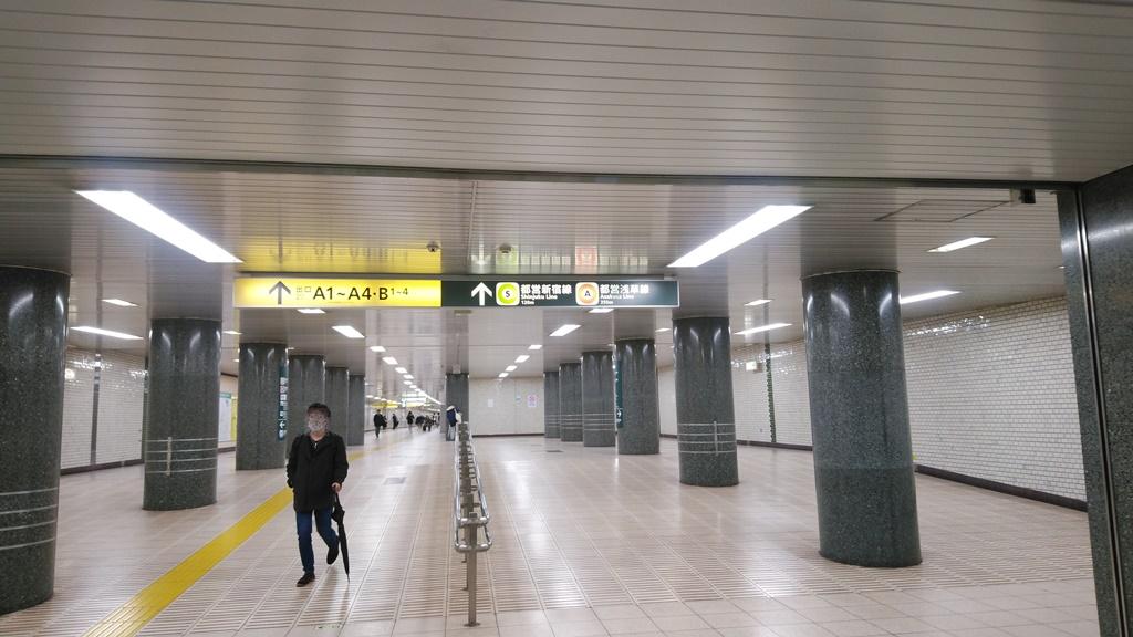 JRから浅草線地下2