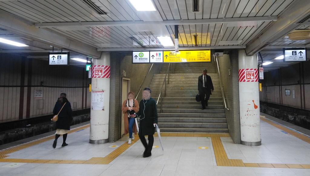 JRから都営新宿線1