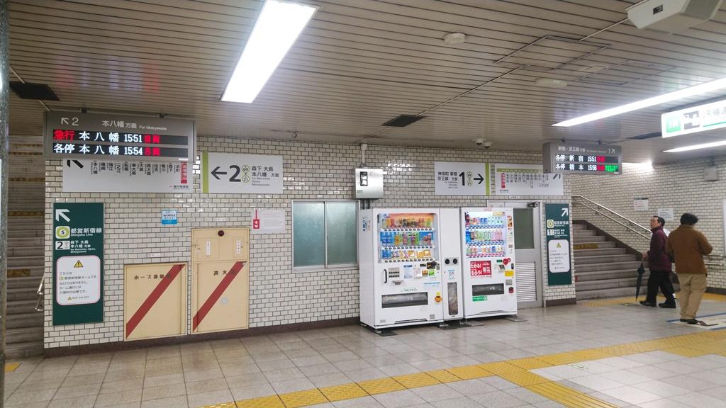 JRから都営新宿線5