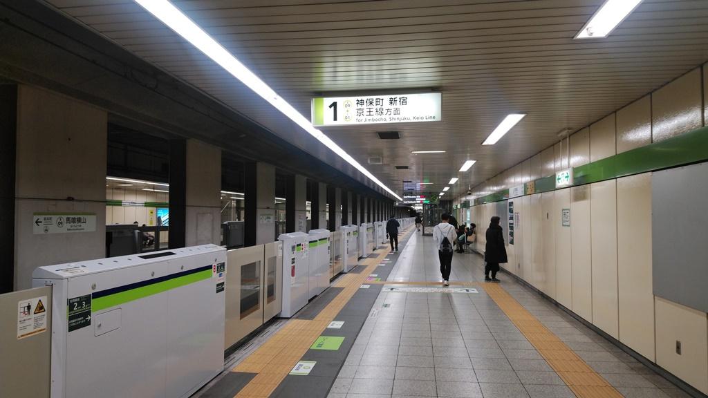 JRから都営新宿線6