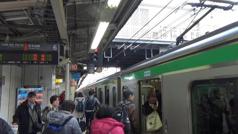 横浜駅東海道線