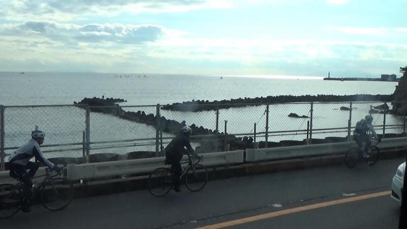江ノ電から相模湾
