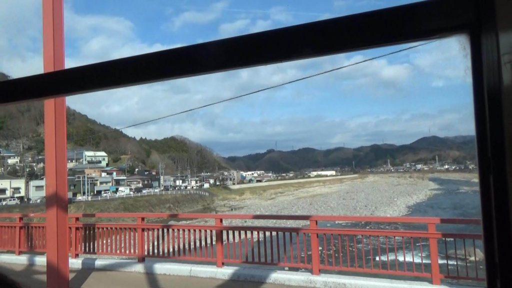 バスで修善寺温泉へ