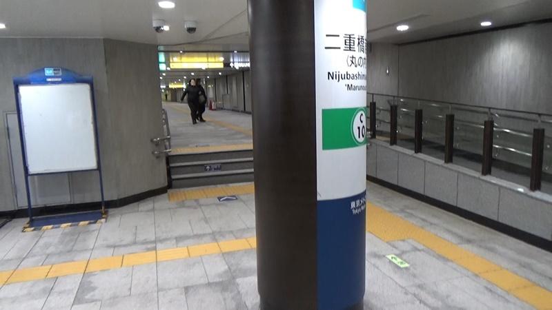 二重橋前から東京3