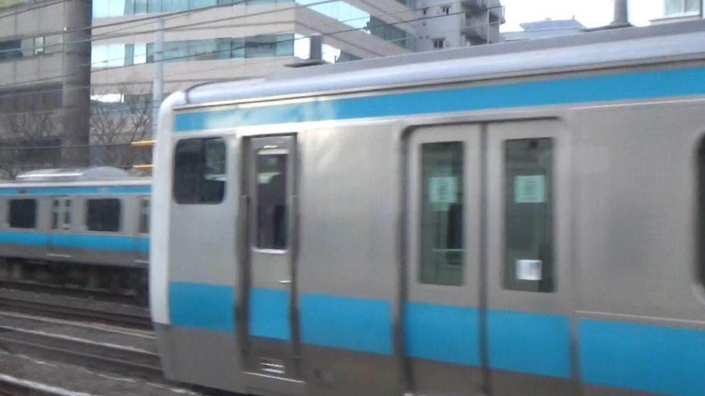 京浜東北線を抜く